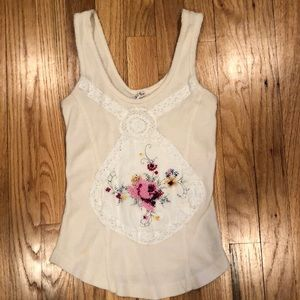 Free people XS tank top slight small stain on left